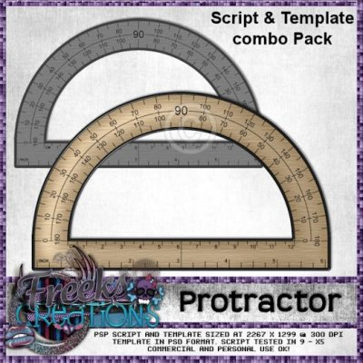 Protractor Combo Pack