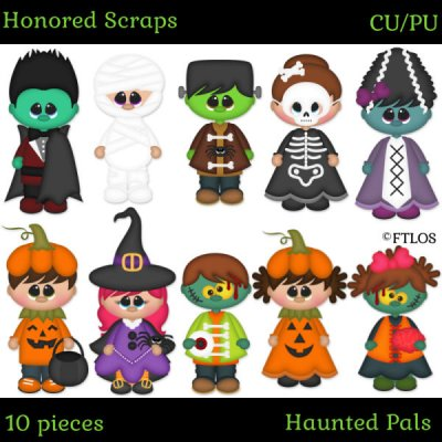 Haunted Pals (CU/PU)