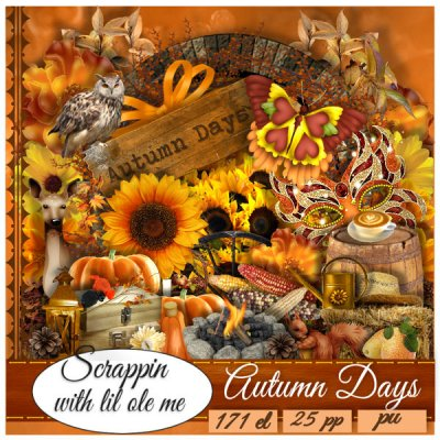 Autumn Days Tagger Kit