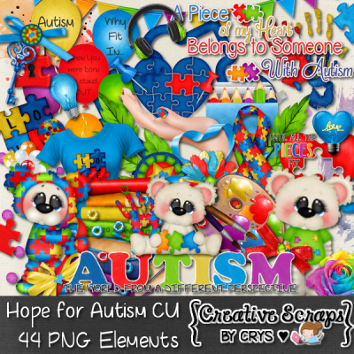 Hope For Autism CU Pack