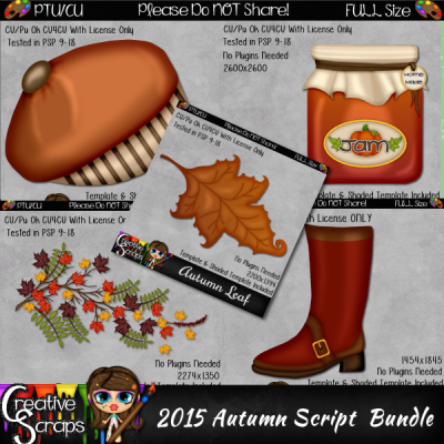 2015 Autumn Script Bundle