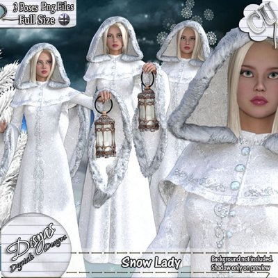 SNOW LADY TUBE PACK CU