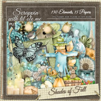 Shades Of Fall Taggers Kit