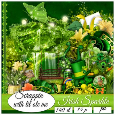 Irish Sparkle Taggers Kit