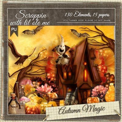 Autumn Magic Taggers Kit