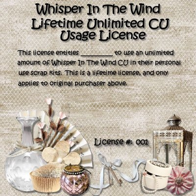 Whisper In the Wind - Buy My CU Store PLUS Unlimited Usage