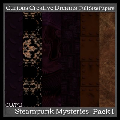 Steam Punk Paper Pack 1