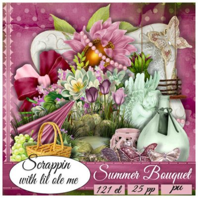 Summer Bouquet Taggers Kit