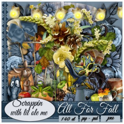 All For Fall Taggers Kit