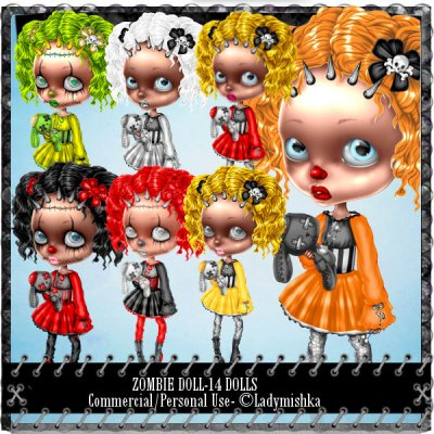 Zombie doll to Ladymishka