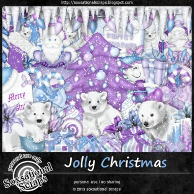 Jolly Christmas Page Kit