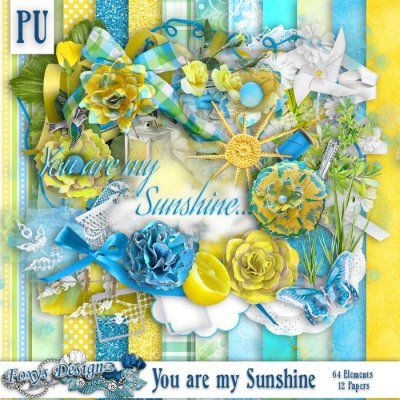 You are my Sunshine Full Page