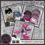 CU - Shoe, Purse & Bag bundle 2