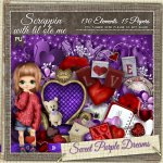 Sweet Purple Dreams Taggers Kit