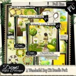 A WONDERFUL DAY BUNDLE TAGGER SIZE