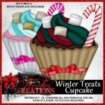 Winter Treats Cupcake