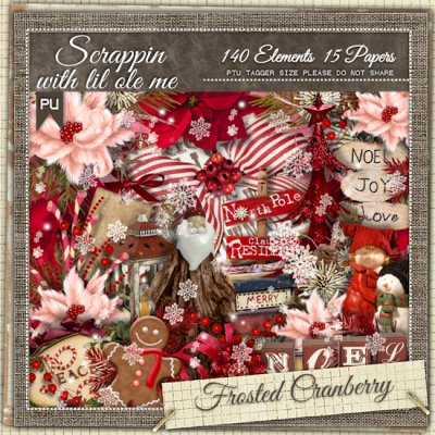 Frosted Cranberry Taggers Kit