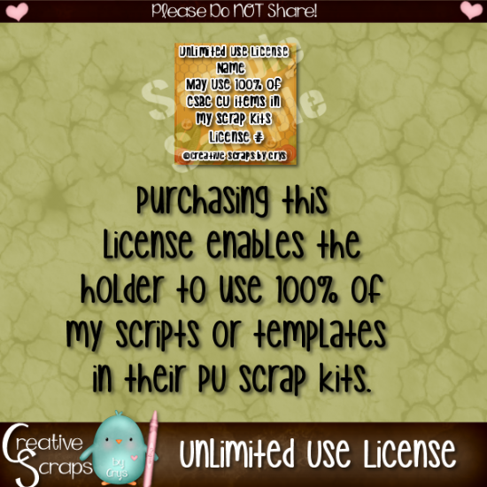 Unlimited Use License - Click Image to Close