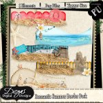 ROMANTIC SUMMER BORDER PACK TAGGER SIZE