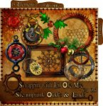 Steampunk Odds N Ends ( mixed sizes )