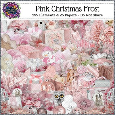 Pink Christmas Frost