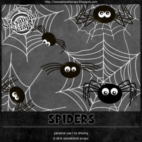 Spiders CU - Click Image to Close