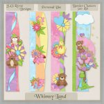 Whimsy Land Border Clusters