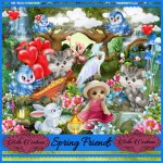 Spring Friends Matching Kit