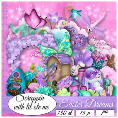 Easter Dreams Taggers Kit