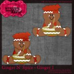 Ginger N' Spice - Ginger 1 Template