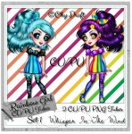Rainbow Girl CU/PU Tube Set 1