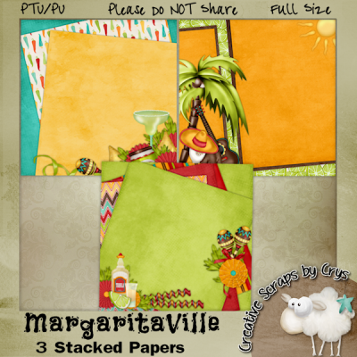 MargaritaVille Stacked Papers