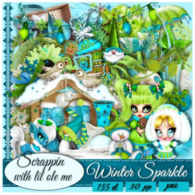 Winter Sparkle Taggers Kit