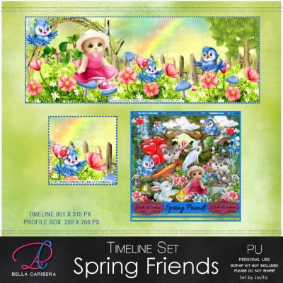 SPRING FRIENDS TL 9